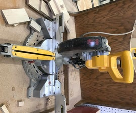How to Cut a Board on a Miter Saw