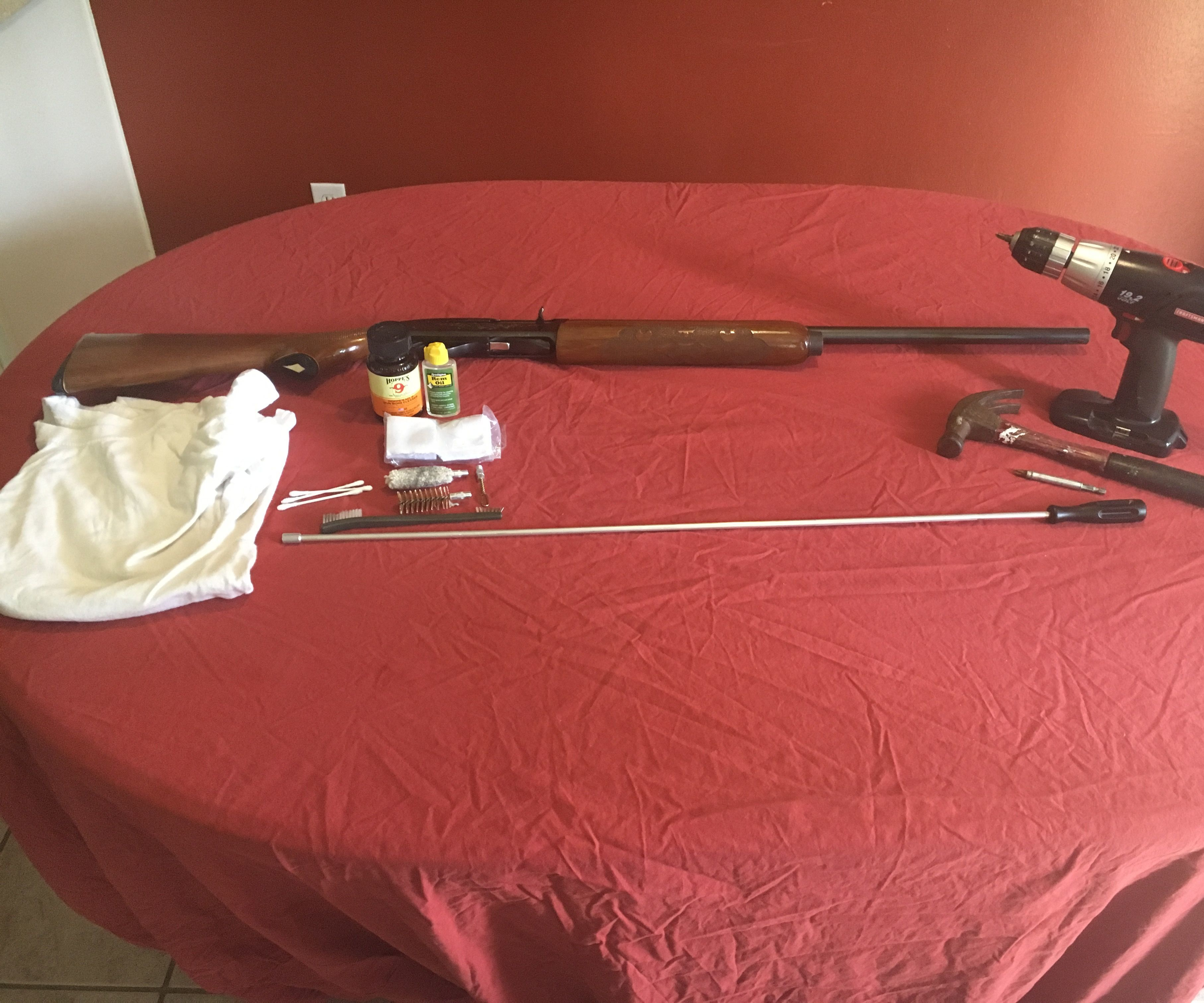 How to Disassemble and Clean a Remington 1110 Shotgun