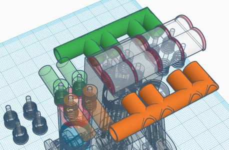 Build Intake/Exhaust Manifolds