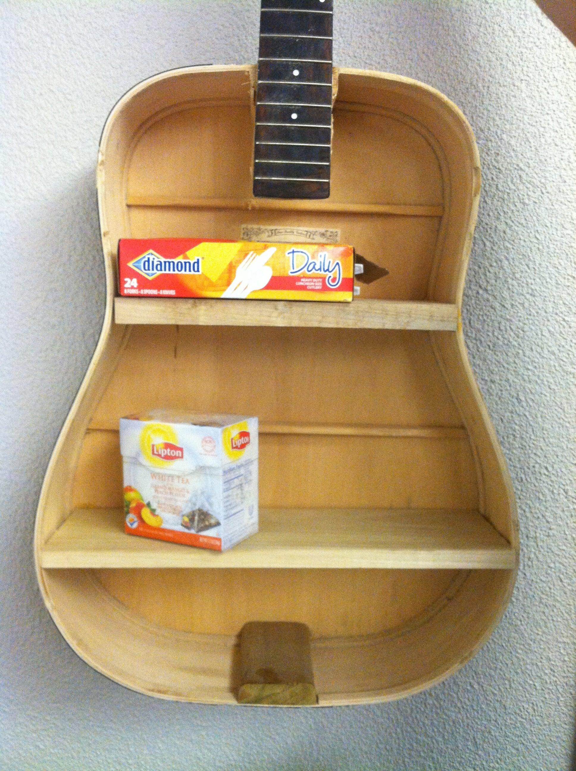 Guitar Shelf! : 5 Steps - Instructables