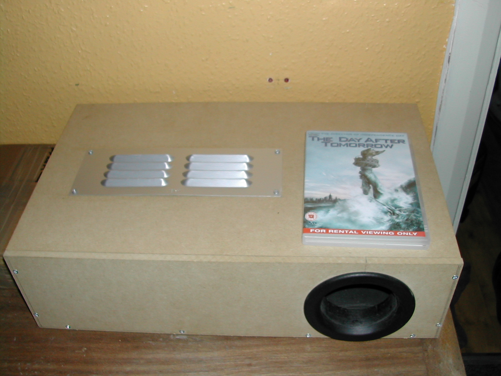 DIY Projector using an OHP