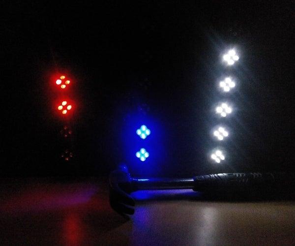 Pure Binary LED Wall Clock With Arduino