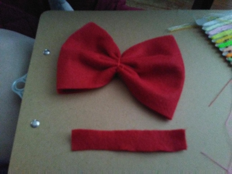 Step 5: Fabric Bow