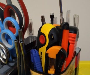Table Top Turntable Tool Caddy