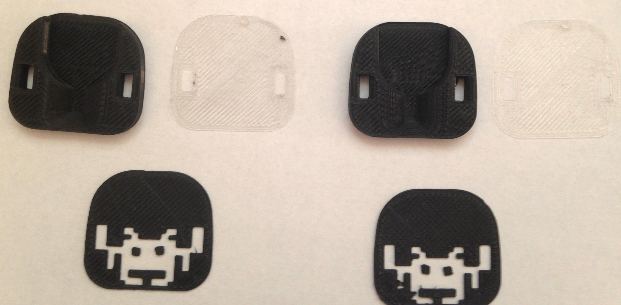 3D Print the STL for the LED Space Invaders