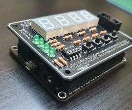Mojo FPGA Development Board Shield