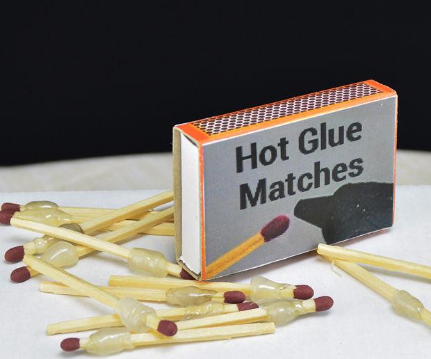 Hot Glue Matches