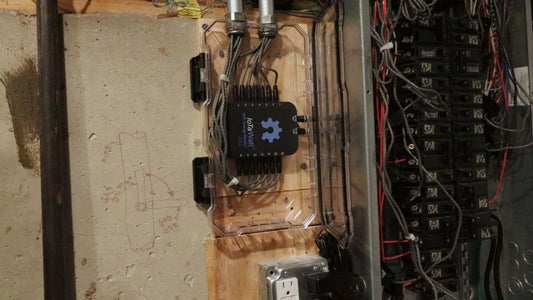 Tidy Up and Close Electrical Panel
