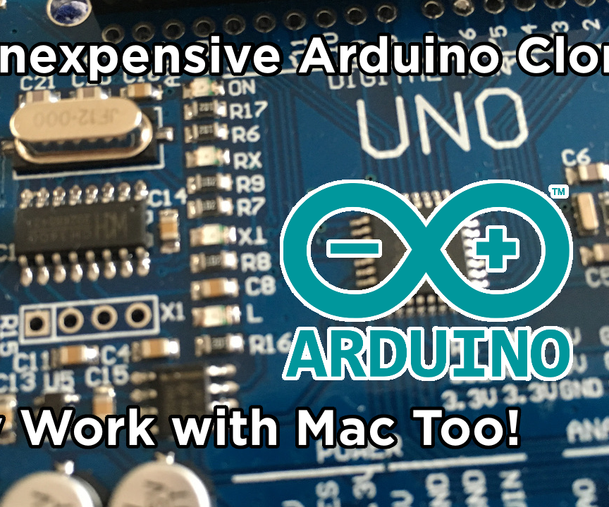 Make Arduino Clones Work With Mac!   80% Off of an Arduino