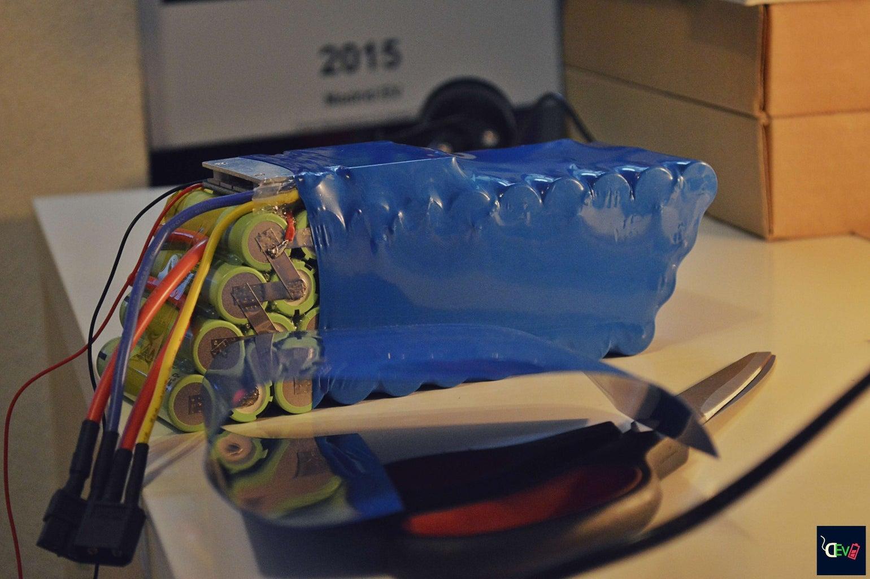 36V 11.6Ah Li-ion Battery Pack