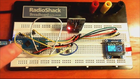 Connect the DS3231 Module and 128x64 OLED Module to the Arduino