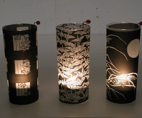 Tea Light Lamps (an Easy Last-Second Gift)