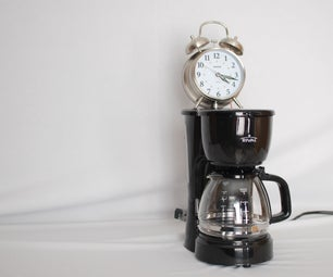 Coffee Pot Alarm Clock