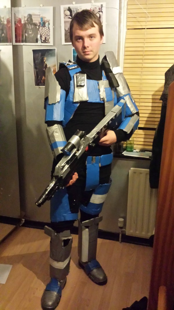 Halo Reach Spartan Build COMPLETED