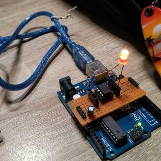 ATtiny Programming Shield for Arduino
