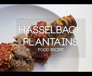 Hasselback Plantains