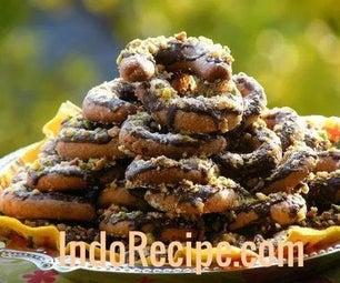 Pistachio Coffee Cookies