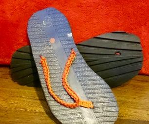 Flip Flops From Car Tire