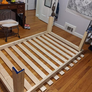 Cheap, Easy, Low-waste Platform Bed Plans