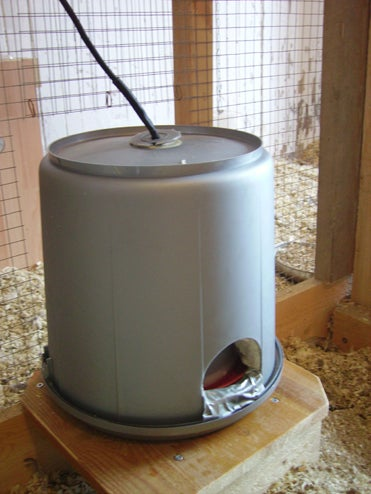 Insulated Watering Place for Chicken