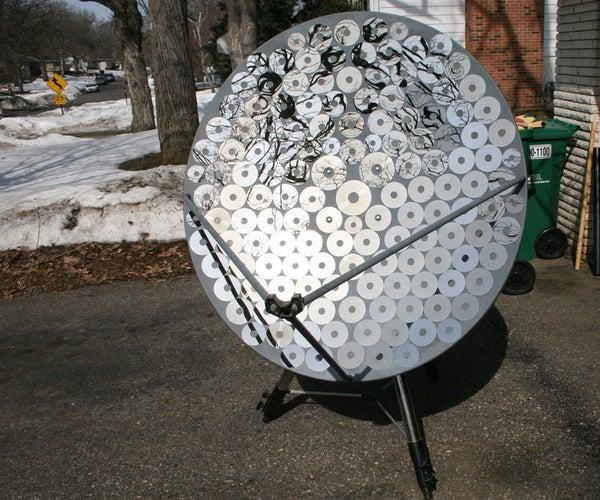 Satellite Dish Solar Cooker