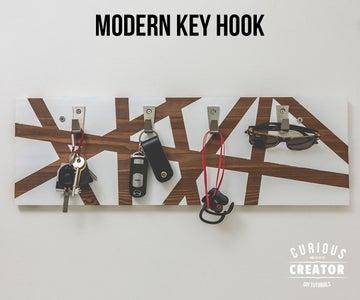 Modern Key Hook