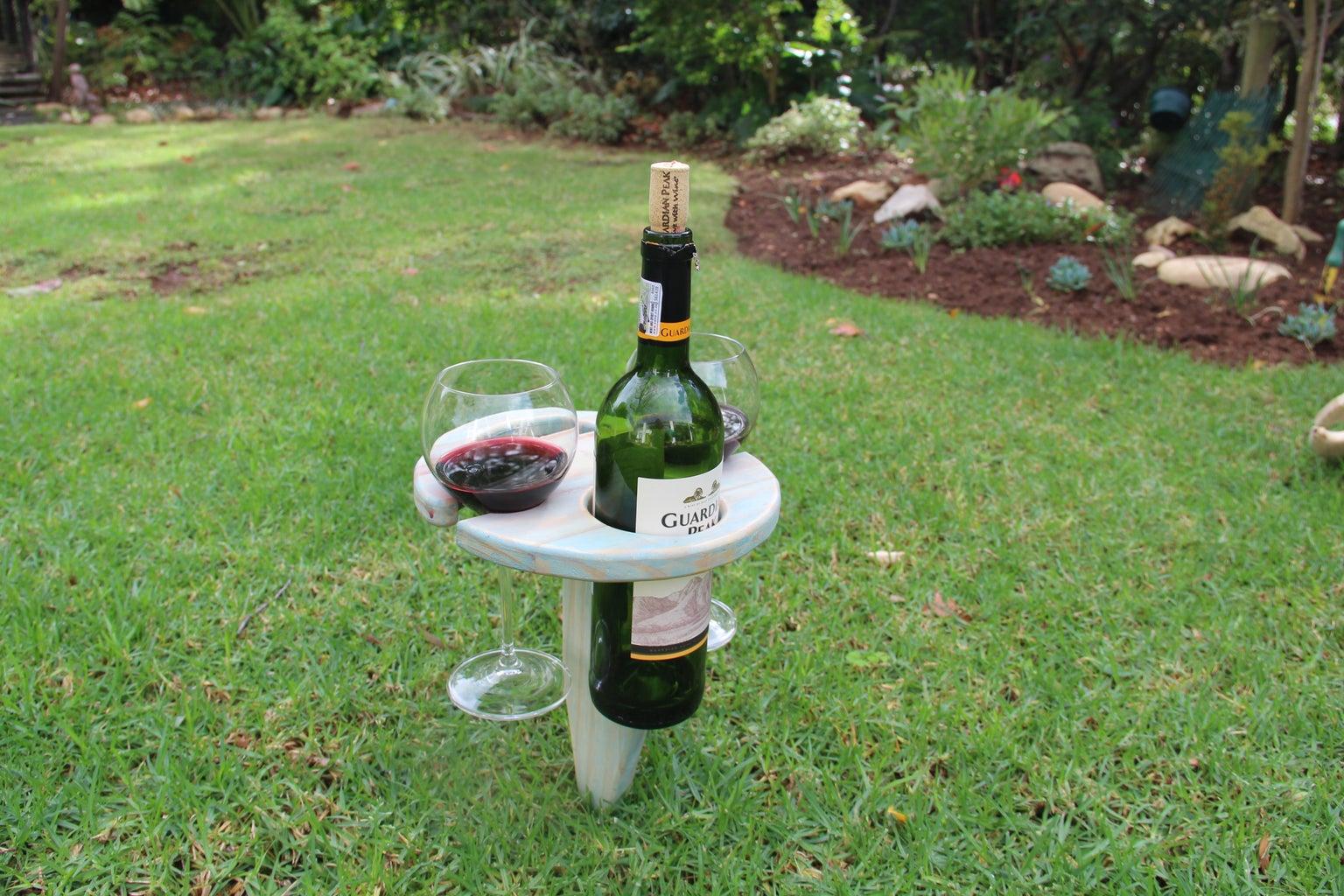 Enjoy Your New Wine Holder.