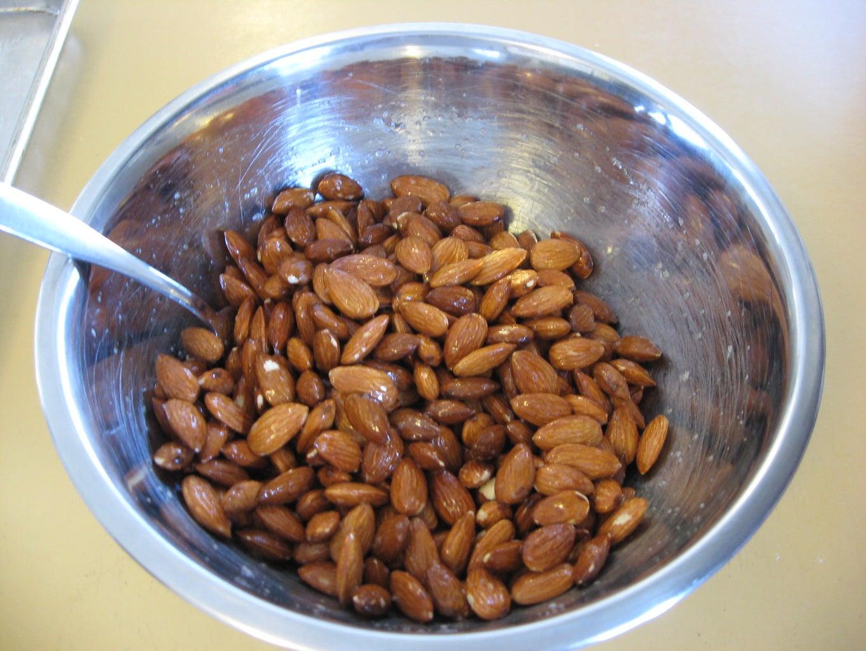 Prepare Almonds
