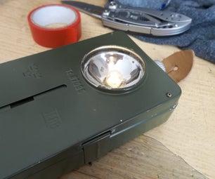 Restoring a WW2 JEAB Flashlight!