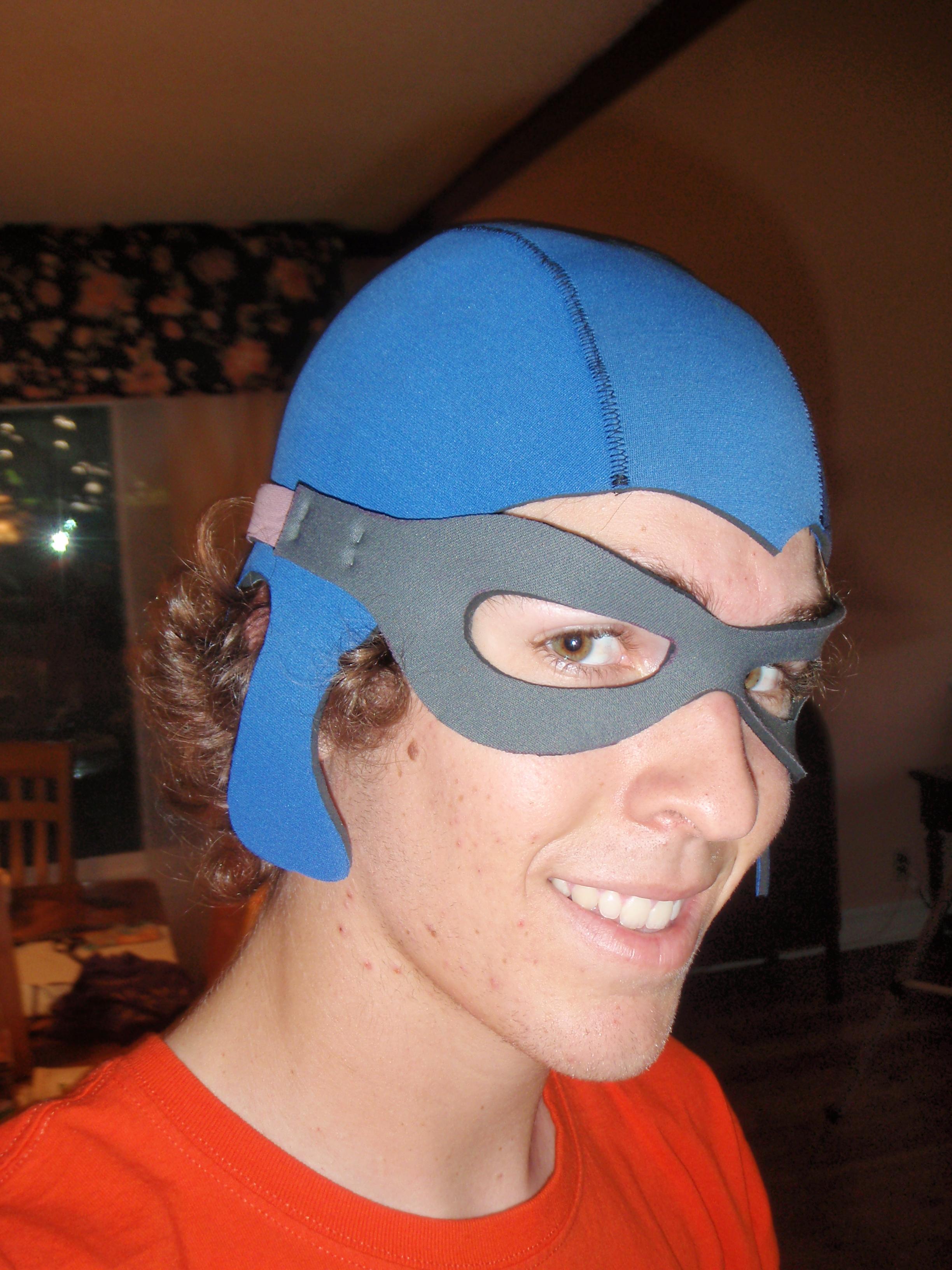 Aquabats Anti-Negativity Helmet