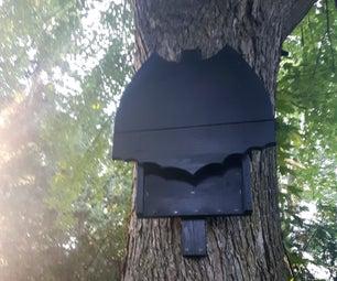 Batman Logo Bat Box House