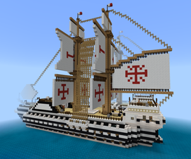 Minecraft - Atlas Class Duel Frigate