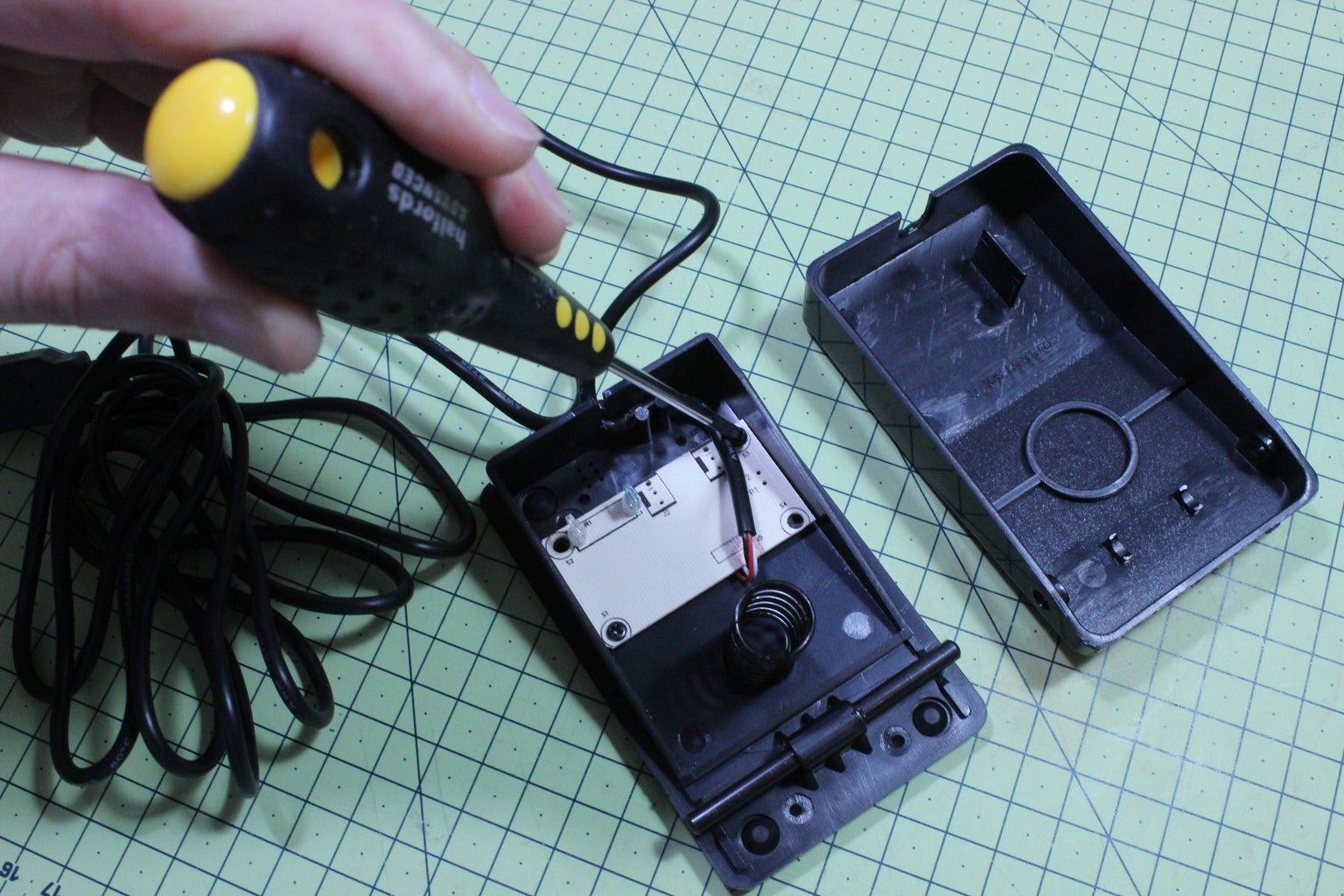 Prepare the USB Foot Pedals