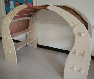DIY Waldorf Style Play Stand