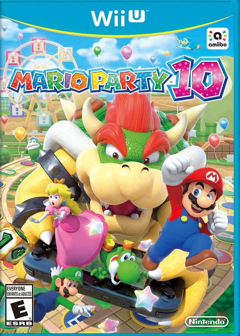 Mario Party 10 Birthday Party Plan