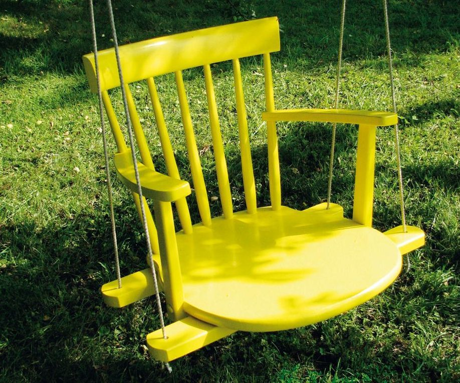 How to make a chair tree swing