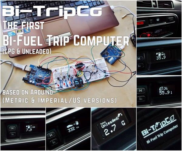 How to Build a Bi-Fuel (LPG & Unleaded) Trip Computer Using Arduino