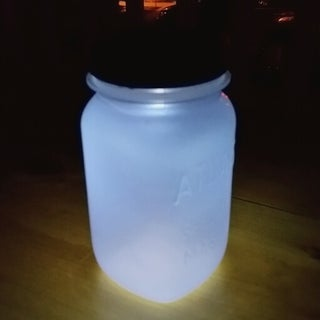 Home-made Sun Jar (BFG Dream Jar)
