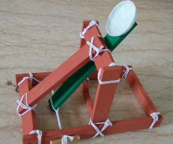 Mini Catapult for Kids