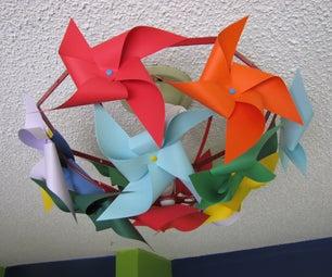 Easy Breezy Pinwheel Light