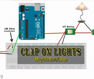 Arduino Clap-On Lights - Introduction to Relays