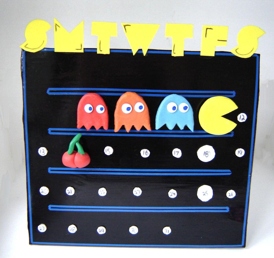 Pacman Perpetual Calendar