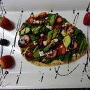 Balsamic Strawberry Flat Bread