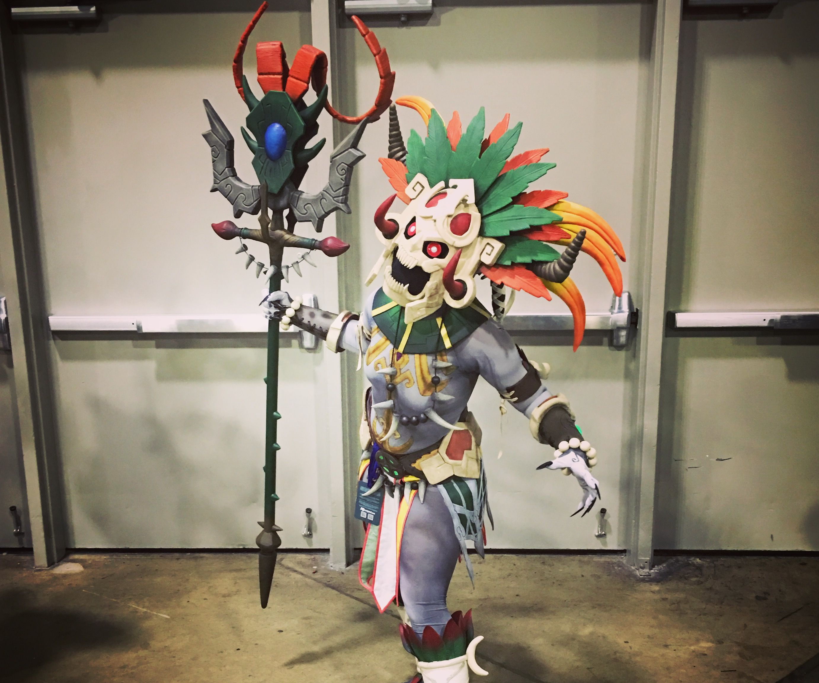 Ah Puch Cosplay (SMITE)