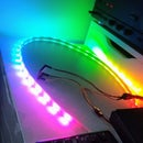 Smartphone Controlled Neopixels (LED Strip) With Blynk App Over WiFi