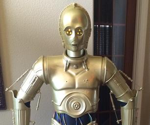 C3PO Droid Construction