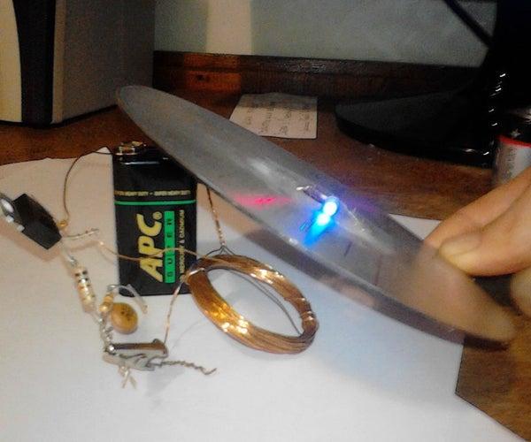 Wireless Energy Transfer Via Joule Thief Circuit