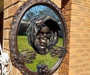 令人毛骨悚然的3D万圣节镜子