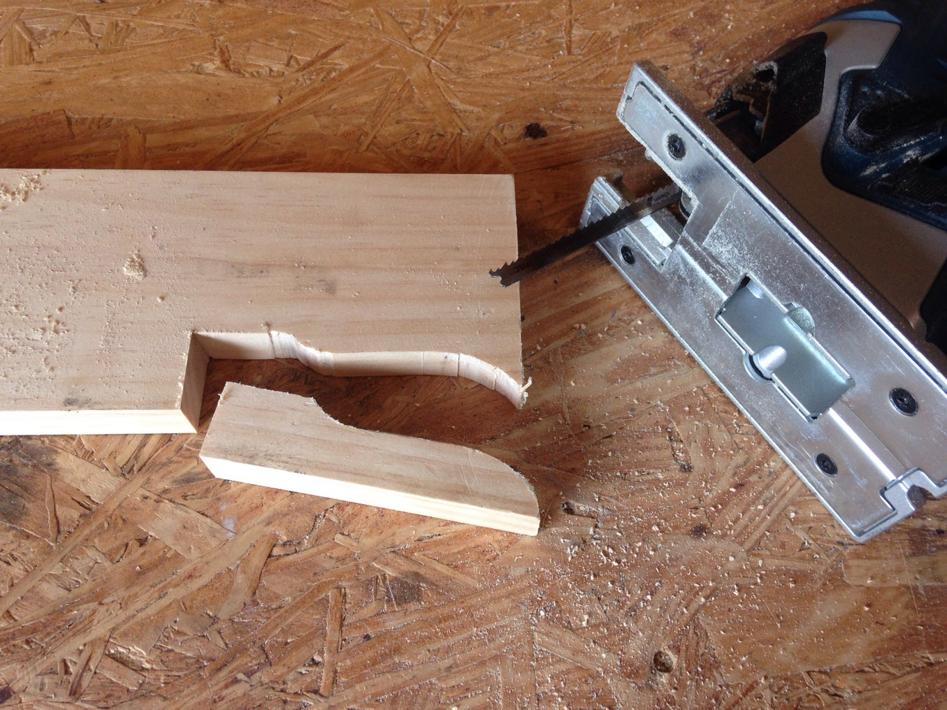 Cutting Out and Sanding