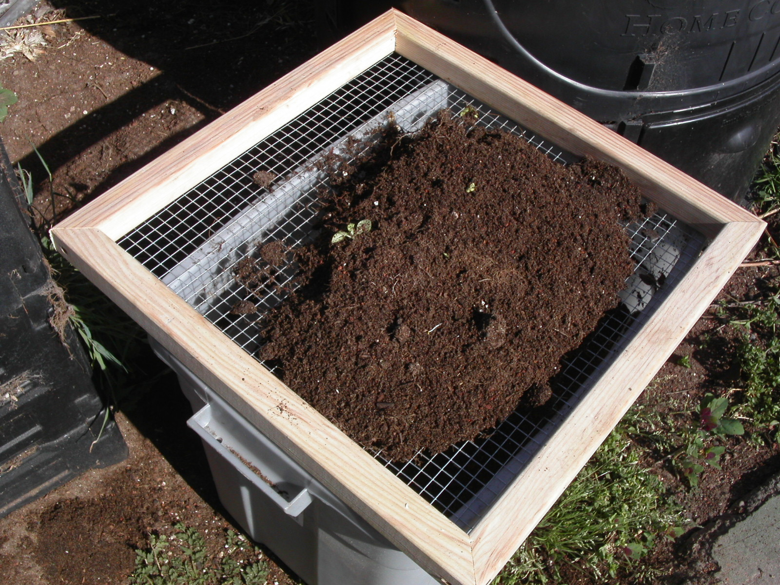 Compost Screen